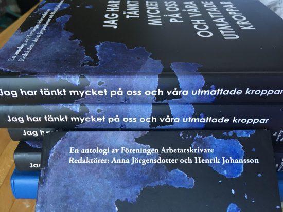 """I DN utnämnde Ulrika Milles Föreningen Arbetarskrivares antologi """"Jag har tänkt mycket på oss och våra utmattade kroppar"""" till 2018 års bästa bok."""